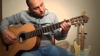 Самая простая песня на гитаре.Урок