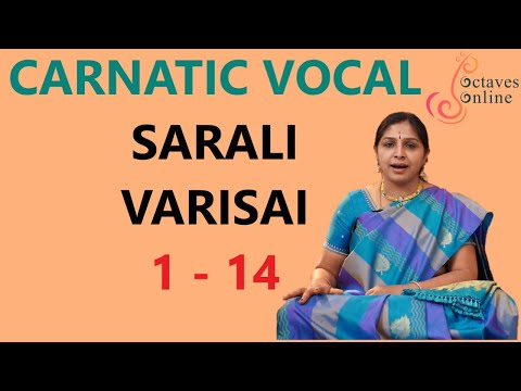 Sarali Varisai 1 - 14 (All three speeds)