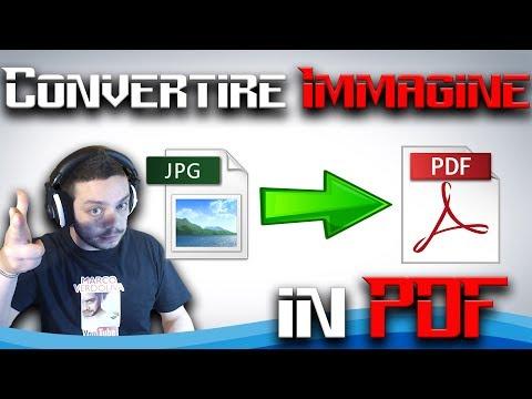 Come Convertire Immagine In PDF