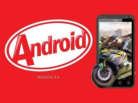 HTC EVO 3D Android 4.4 KitKat обзор