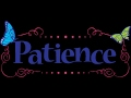 Verily patience is what is shown in the beginning of a calamity