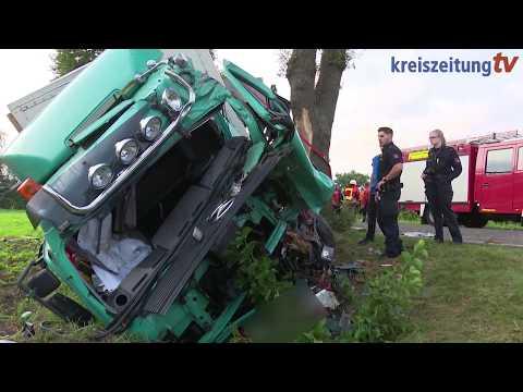Schwerer Lastwagen-Unfall bei