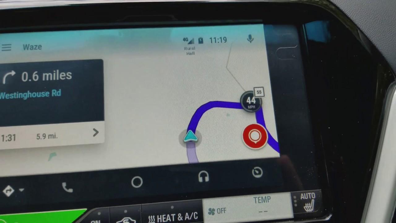 2017 Chevrolet BOLT EV Premier Waze speed limit