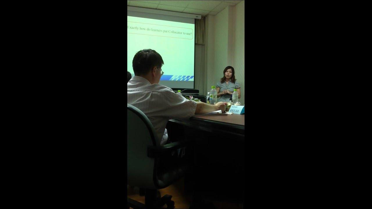 Master thesis oral defense