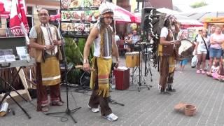 Muzyka Indian Peru - Występ w Dąbkach # 4 Indianska relaksacyjna
