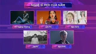 TOP 5 Nghệ Sĩ Mới Của Năm - Zing Music Awards 2017