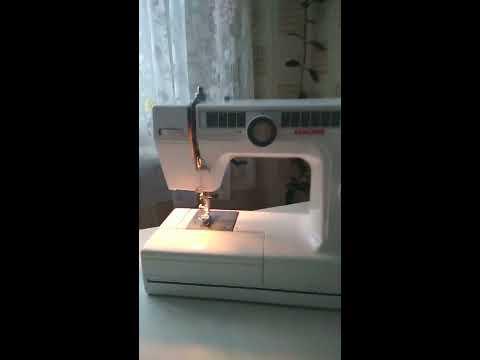 Какую швейную машину выбрать для домашнего пользования. Janome LE 22    1 часть