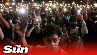 Live: Thousands of anti-government protesters gather in Thailand