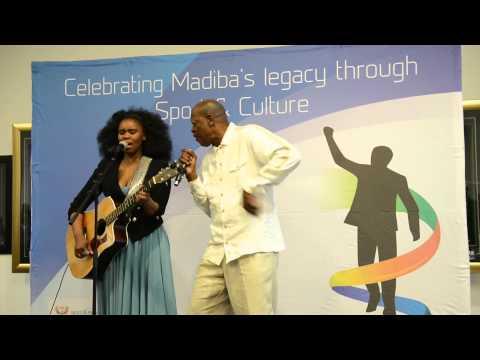Mzwakhe Mbuli Ft Zahara Nelson Mandela video by Lefty Shivambu