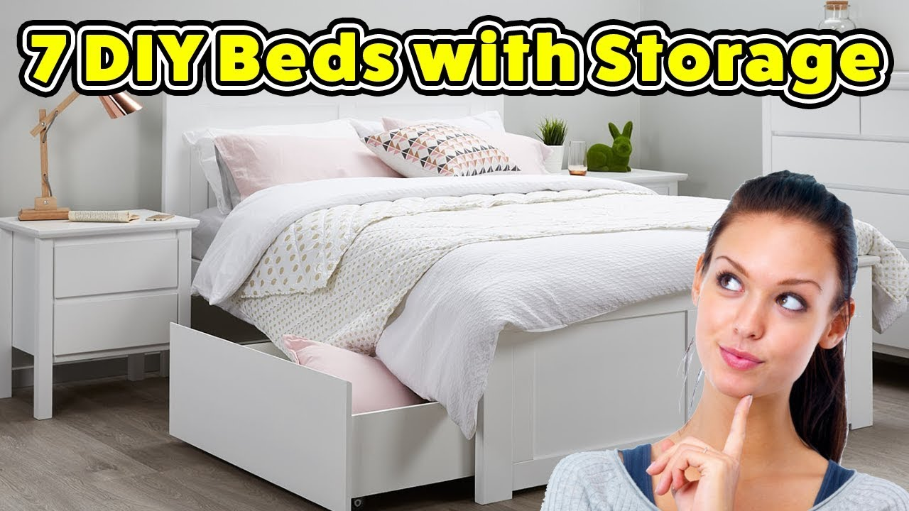 7 beds with storage do it yourself projects youtube 7 beds with storage do it yourself projects solutioingenieria Choice Image