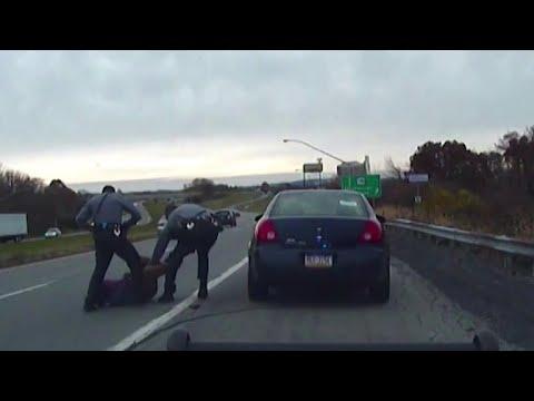 Video of near-fatal traffic stop released