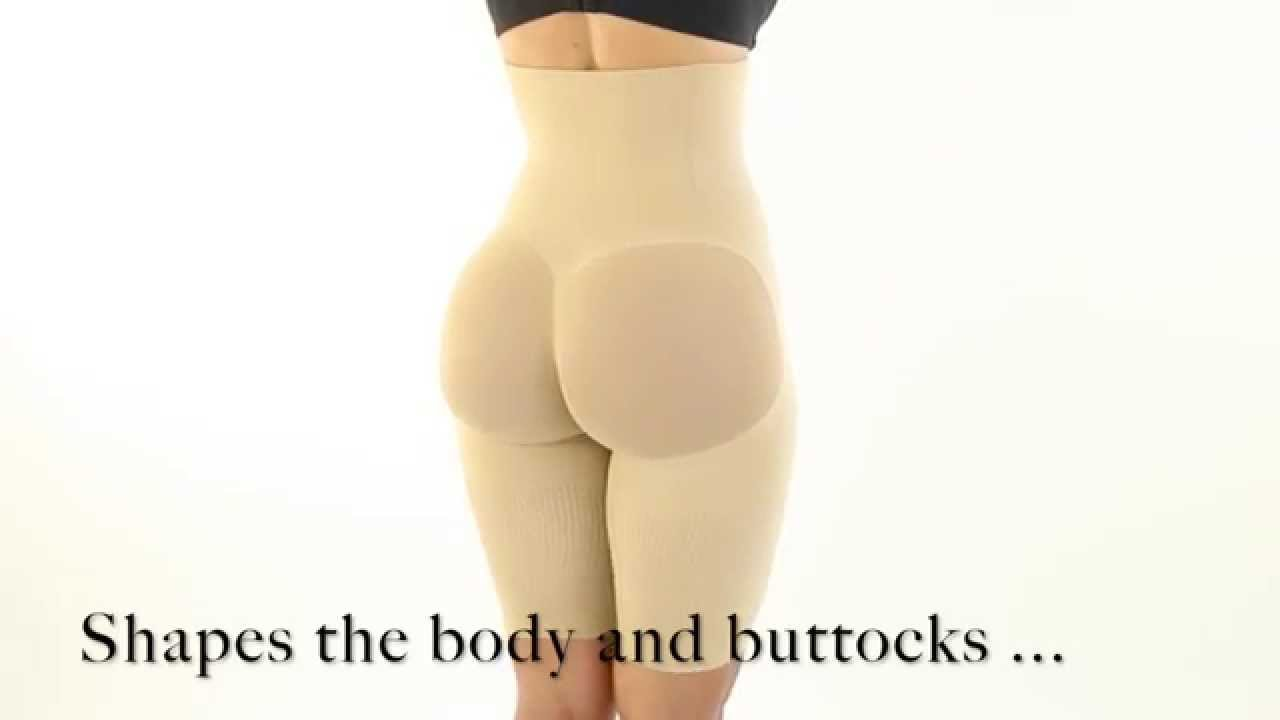 5a9221a17c Yahaira Happy Butt N°7 Seamless Body Shaper - YouTube