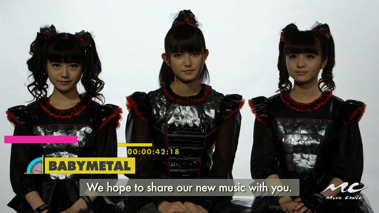 Babymetal On New Single Karate Youtube