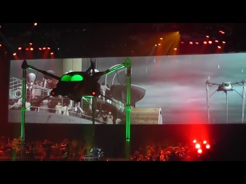 Jeff Wayne's War of the Worlds live ...ULLAAAH... MUST SEE SHOW..  HD