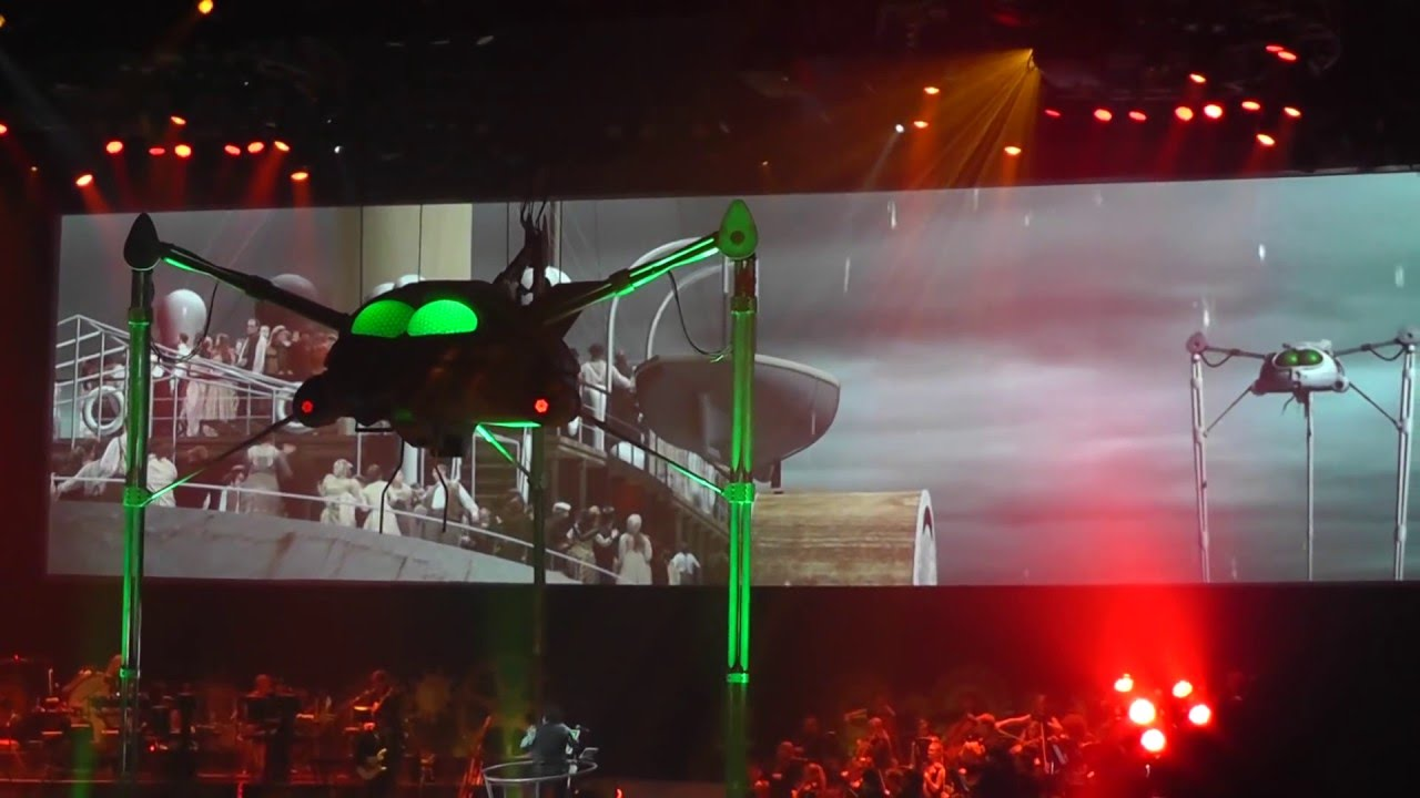 War Of The Worlds New Generation: Jeff Wayne's War Of The Worlds Live ...ULLAAAH... MUST SEE