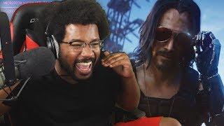 Cyberpunk 2077 is UNREAL! NEW Cyberpunk 2077 Gameplay Trailer LIVE Reaction