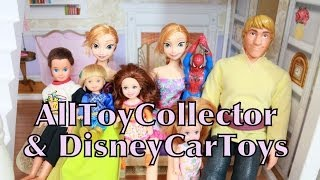 Frozen Kids Toby Spiderman Superhero School PART 2 Krista Plays with AllToyCollector Barbie