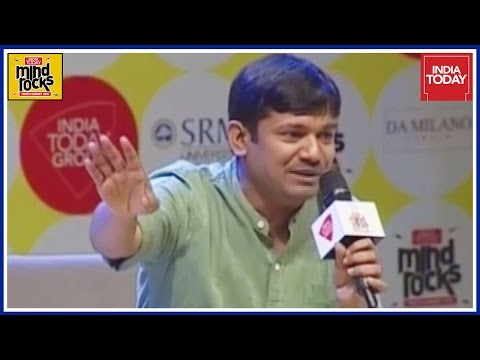 Kanhaiya Kumar Greeted With Modi Chants At India Today Mind Rocks