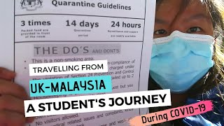 Journey from UK to Malaysia - From Flight to Quarantine