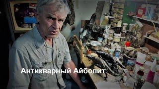 У антикварного Айболита Петровича Реставрация хвоста собаки Сеттер Касли с барахолки