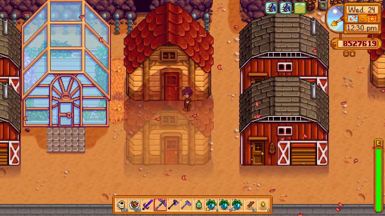 Stardew Valley 100 99 9 Save File Late Game End Game And Post End Game No Textures No Mods Youtube