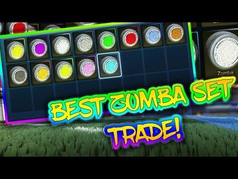 BEST ZOMBA SET TRADE! | BUYING CC4 ZOMBA SET | Rocket League
