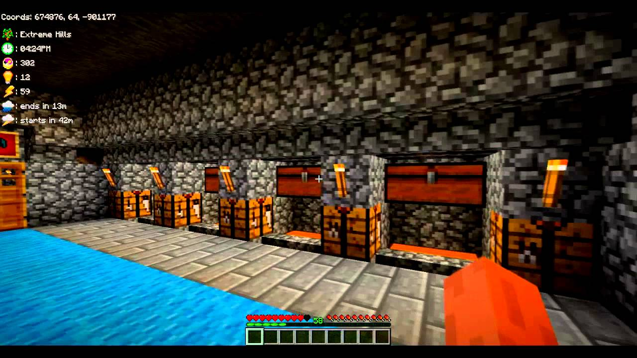 Minecraft My Epic Man Cave YouTube