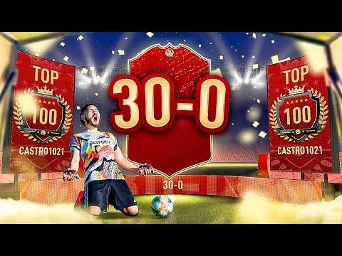 OMG I WENT 30-0!! I GOT TOP 100!! FIFA 20