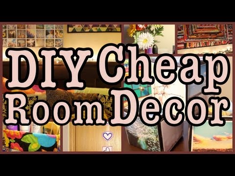 diy cheap room decor ways to spice up your room