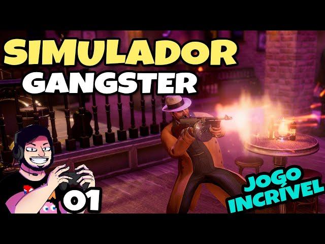 Nesse Jogo Você é um GANGSTER dos Anos 20 (Empire of Sin) // Gameplay Português