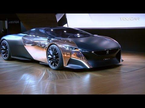 Peugeot ONYX Concept 680 HP @ 2012 Paris Motor Show
