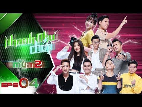 Nhanh Như Chớp Mùa 2  Tập 04 Full HD: Hari Won-Trường Giang Bị Han Sara-Con Hoài Linh Dập Tan Nát