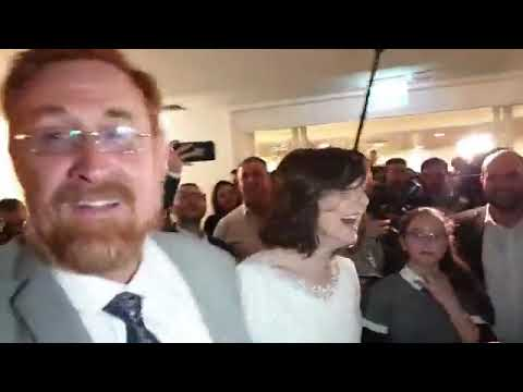 Dancing and rejoicing at MK Yehuda Glick's wedding