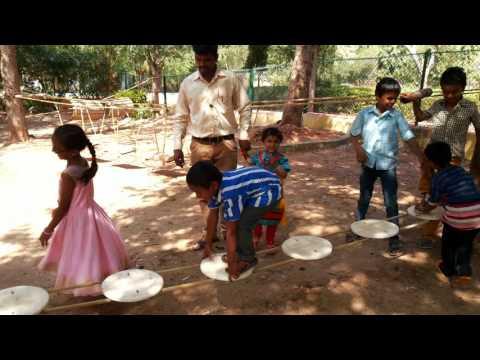 Hubli kids playing gadag zoo