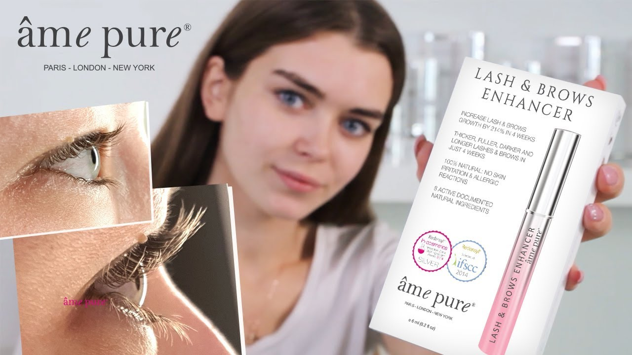 2f96eb27eb6 How To Use âme pure® LASH & BROWS ENHANCER - YouTube