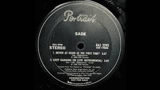 Keep Hanging On (Live Instrumental) / Sade