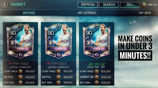 FIFA MOBILE 18- BEST SNIPPING FILTERS MAKE 10 MILLION COINS IN UNDER THAN 30 MINUTES!!!