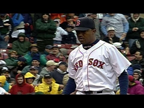 Pedro Martinez starts game with immaculate inning