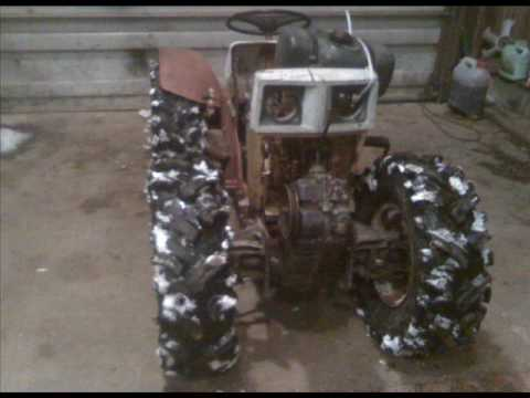 SEARS CUSTOM 4X4 PULLING LAWN TRACTOR LAWNMOWER YouTube