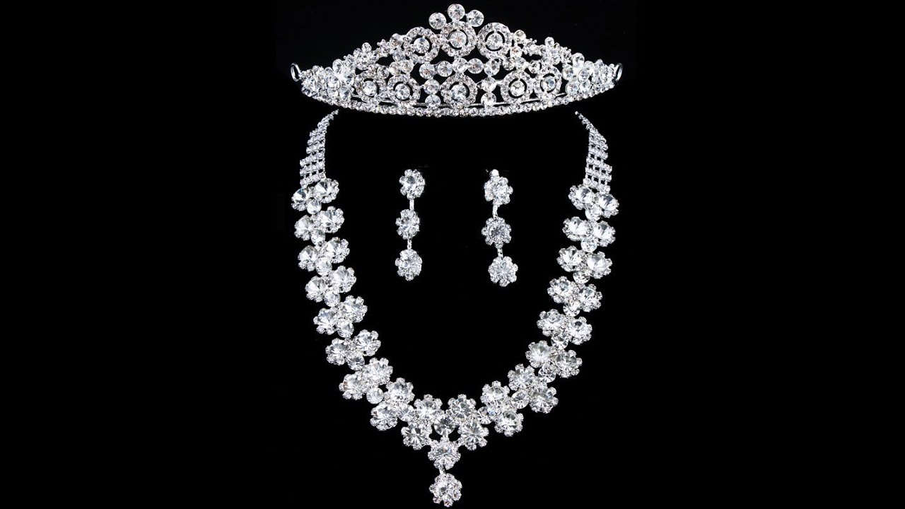 Bridal Jewelry Bridal Jewelry Sets Bridal Jewelry Etsy YouTube
