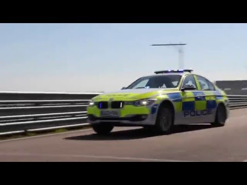 Leicestershire Police - BMW 330d Roads Policing Unit Traffic Car On Blues And Twos