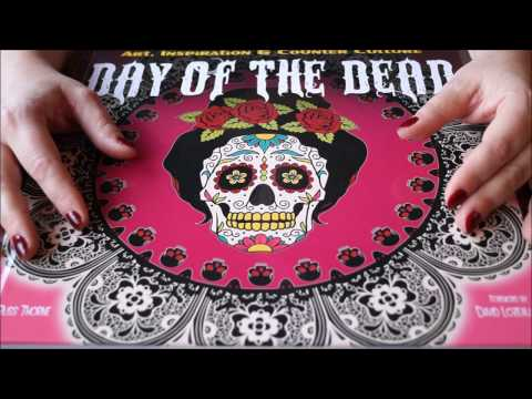 ASMR på norsk/in Norwegian: Halloween ~ Day of the Dead ~ De dødes dag