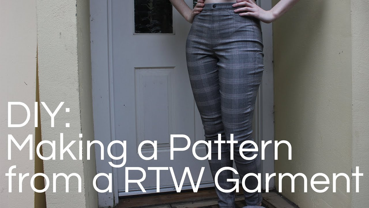 Making a Sewing Pattern from a RTW Garment