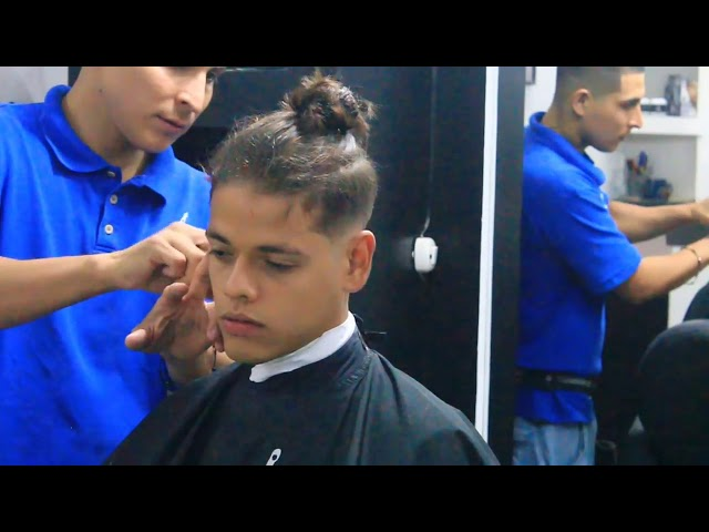 Corte de pelo disconnected undercut