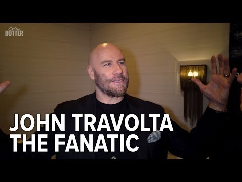 The Fanatic: John Travolta Talks About His Love For Fans, Awkward Moments | Extra Butter