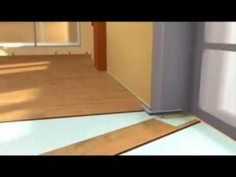 Технология укладки ламината с замком Click