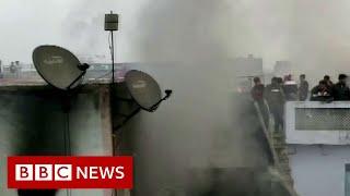 Delhi factory fire: More than 40 dead in India blaze - BBC News