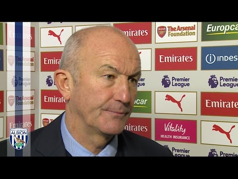 Albion Head Coach Tony Pulis reflects on Arsenal defeat