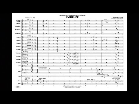 Evidence by Thelonious Monk/arr. John Clayton