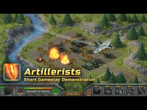Artillerists - short gameplay demonstration